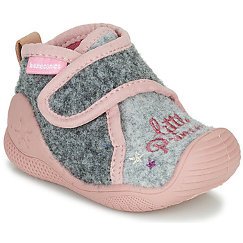 Chaussures Fille Chaussons Biomecanics BIOHOME Gris / Rose