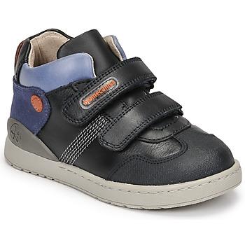 Chaussures Garçon Baskets montantes Biomecanics BIOEVOLUTION BOY Marine