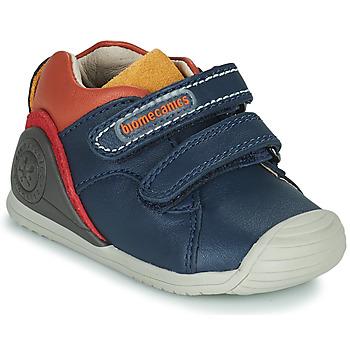 Chaussures Garçon Baskets basses Biomecanics BIOGATEO CASUAL Marine