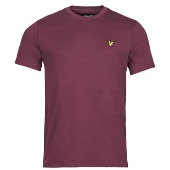 Vêtements Homme T-shirts manches courtes Lyle & Scott ROBINA Bordeaux