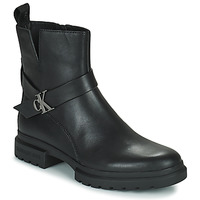 Chaussures Femme Boots Calvin Klein Jeans CLEATED MID BOOT Noir