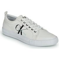 Chaussures Femme Baskets basses Calvin Klein Jeans VULCANIZED LACEUP SNEAKER Blanc