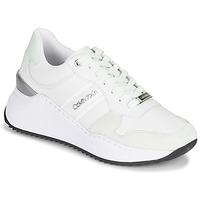 Chaussures Femme Baskets basses Calvin Klein Jeans RYLIE LACE UP 3 Blanc