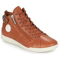 Chaussures Femme Baskets montantes Pataugas PALME Camel