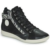Chaussures Femme Baskets montantes Pataugas PALME Noir