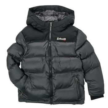 Vêtements Enfant Doudounes Schott UTAH 2 Gris