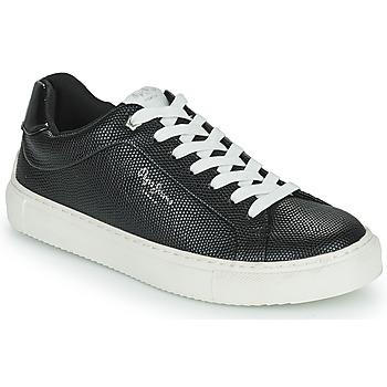 Chaussures Femme Baskets basses Pepe jeans ADAMS COLLINS Noir