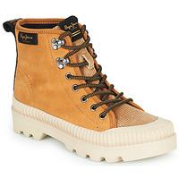 Chaussures Femme Baskets montantes Pepe jeans ASCOT DESERT Camel
