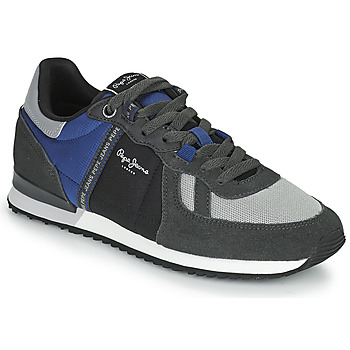 Chaussures Homme Baskets basses Pepe jeans TINKER ZERO TAPE Gris / Bleu