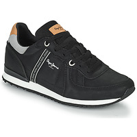 Chaussures Homme Baskets basses Pepe jeans TINKER ROAD Noir