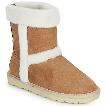 Chaussures Fille Baskets basses Pepe jeans ANGEL FOLD Camel