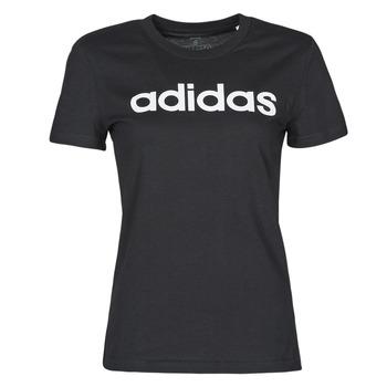 Vêtements Femme T-shirts manches courtes adidas Performance WELINT Noir