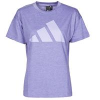 Vêtements Femme T-shirts manches courtes adidas Performance WEWINTEE Orbit violet mel