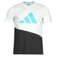 Vêtements Homme T-shirts manches courtes adidas Performance FUTURE BLK TEE Blanc cristal