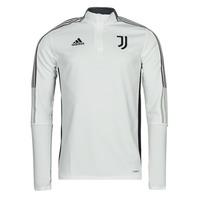 Vêtements Vestes de survêtement adidas Performance JUVE TR TOP Blanc essentiel