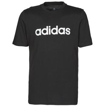 Vêtements Homme T-shirts manches courtes adidas Performance M LIN SJ T Noir