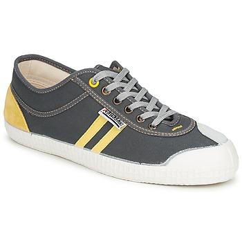 Chaussures Baskets basses Kawasaki RETRO Gris / Jaune