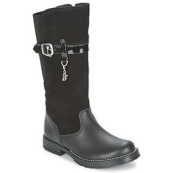Chaussures Fille Bottes ville Start Rite AQUA-FELINE Noir