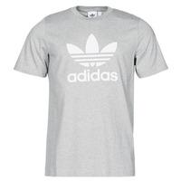Vêtements Homme T-shirts manches courtes adidas Originals TREFOIL T-SHIRT Bruyere gris moyen