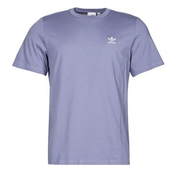 Vêtements Homme T-shirts manches courtes adidas Originals ESSENTIAL TEE Violet orbite