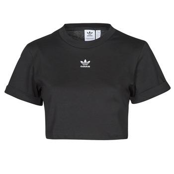 Vêtements Femme T-shirts manches courtes adidas Originals TEE Noir