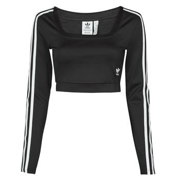 Vêtements Femme T-shirts manches longues adidas Originals LONG SLEEVE Noir