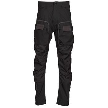 Vêtements Homme Pantalons cargo G-Star Raw 3D STRAIGHT TAPERED CARGO Noir