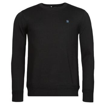 Vêtements Homme Pulls G-Star Raw PREMIUM BASIC KNIT R LS Noir