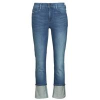 Vêtements Femme Jeans droit G-Star Raw NOXER STRAIGHT Bleu