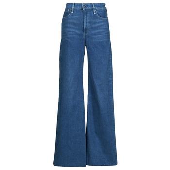 Vêtements Femme Jeans bootcut G-Star Raw DECK ULTRA HIGH WIDE LEG Bleu
