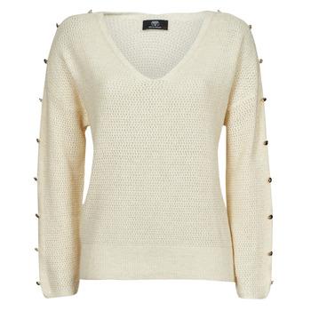 Vêtements Femme Pulls Le Temps des Cerises SIBEL Blanc