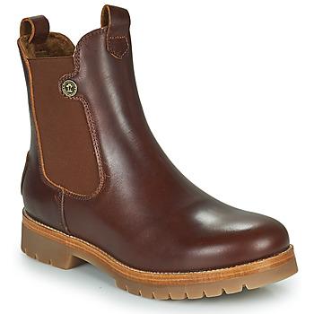 Chaussures Femme Boots Panama Jack FRANCESCA Marron