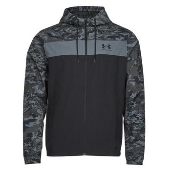 Vêtements Homme Coupes vent Under Armour UA SPORTSTYLE CAMO WNDBKR Noir
