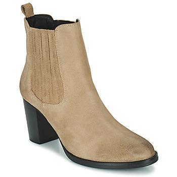 Chaussures Femme Bottines Betty London PATIS Beige