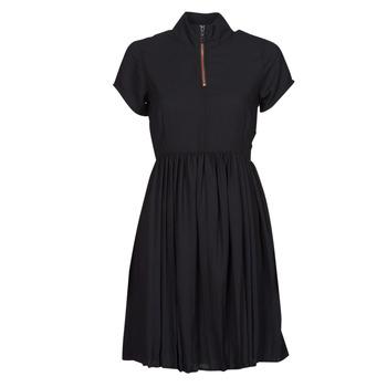 Vêtements Femme Robes courtes Volcom DOTSABILLY DRESS Noir