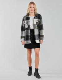 Vêtements Femme Vestes / Blazers Volcom SILENT SHERPA JACKET Noir