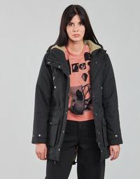 Vêtements Femme Parkas Volcom WALK ON BY 5K PARKA Noir