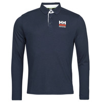 Vêtements Homme Polos manches longues Helly Hansen SKAGEN QUICKDRY RUGGER Marine