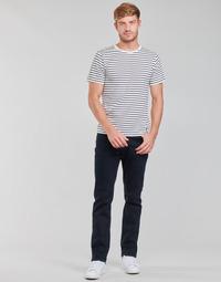Vêtements Homme Jeans droit Lee BROOKLYN STRAIGHT Bleu / Noir