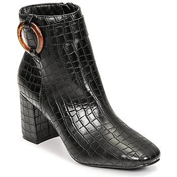 Chaussures Femme Bottines Moony Mood PULIA Noir
