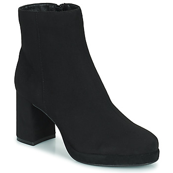 Chaussures Femme Bottines Moony Mood PORTUNA Noir