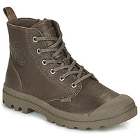Chaussures Boots Palladium PAMPA LEATHER Camel