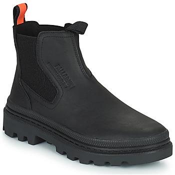 Chaussures Boots Palladium PALLATROOPER WATERPROOF Noir
