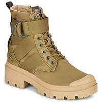 Chaussures Femme Boots Palladium PALLABASE TACT S TX Vert