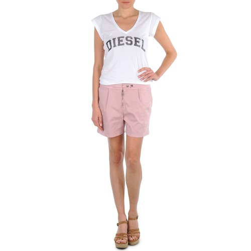 Vêtements Femme Shorts / Bermudas Diesel HANTU Rose