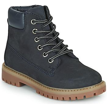 Chaussures Garçon Boots Citrouille et Compagnie PACITO Bleu