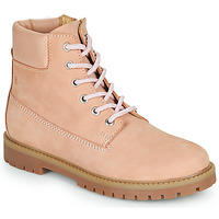 Chaussures Fille Boots Citrouille et Compagnie PACITO Rose