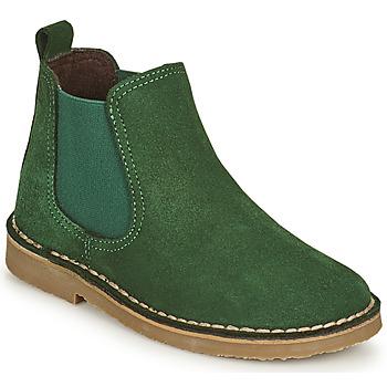 Chaussures Enfant Boots Citrouille et Compagnie HOVETTE Vert