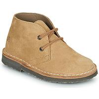 Chaussures Garçon Boots Citrouille et Compagnie PILLO Beige