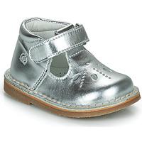 Chaussures Fille Ballerines / babies Citrouille et Compagnie OTALI Argent